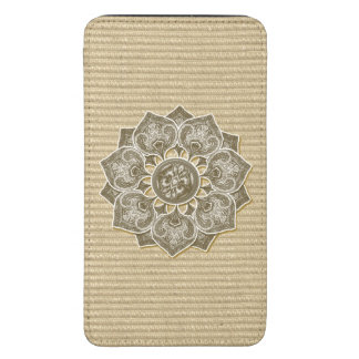 Flower Applique with Jacquard Material ANY COLOR Galaxy S5 Pouch