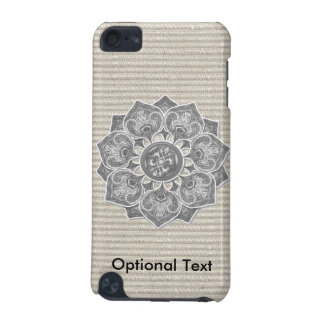 Flower Applique with Jacquard Material ANY COLOR iPod Touch 5G Cover