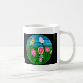 Flower Aquarium Coffee Mug