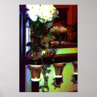 Flower Arrangement Art Poster