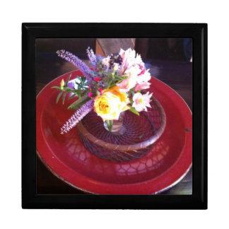 Flower arrangement at Esalen, Big Sur Gift Boxes