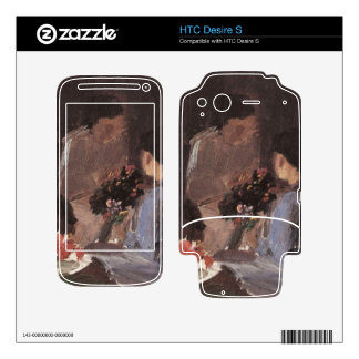 Flower arrangement by Anna Ancher Skin For HTC Desire S