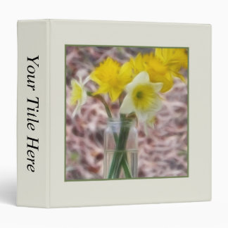 Flower Arrangement - Daffodils Binder