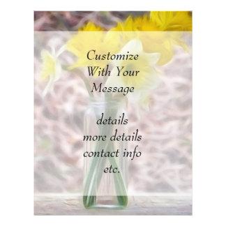 Flower Arrangement - Daffodils Flyer