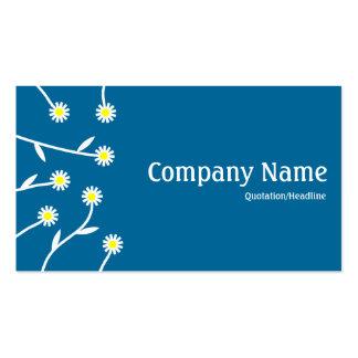 Flower Arrangement - Desert Blue 006699 Double-Sided Standard Business Cards (Pack Of 100)