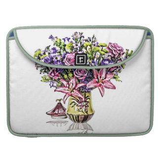 Flower Arrangement in Pink & Purple MacBook Pro Sleeve