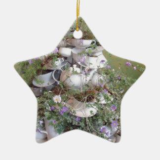 Flower arrangement christmas ornament