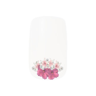 Flower Arrangement pink Minx® Nail Art