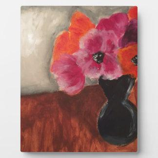 Flower Arrangement Plaque