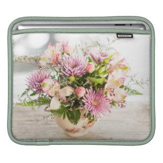 Flower arrangement sleeve for iPads
