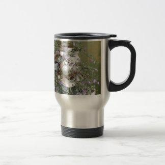 Flower arrangement travel mug