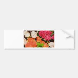 Flower Arrangements Wedding Party Colorful Destiny Bumper Sticker
