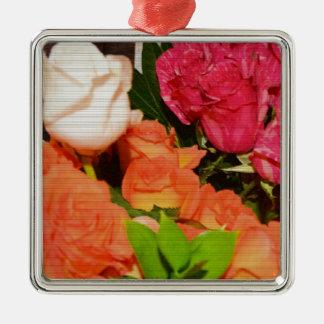 Flower Arrangements Wedding Party Colorful Destiny Ornaments