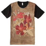 Flower Art 1 Options All-Over Print T-shirt