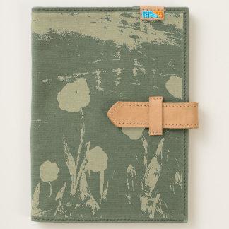 Flower Art Canvas Journal