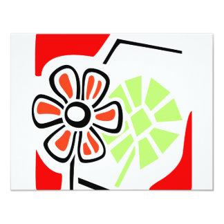 Flower Art Card