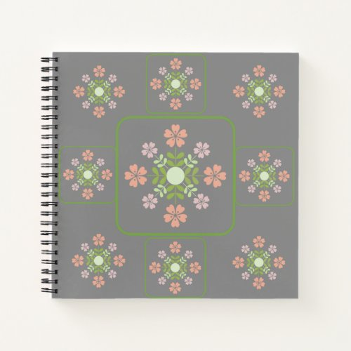 Flower Art Notebook