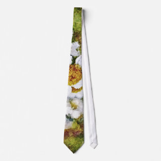 Flower Art Painting Tie