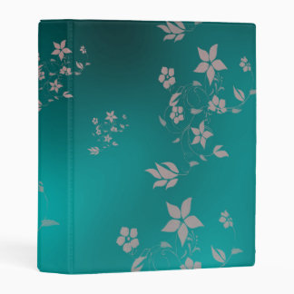 flower asian mini binder