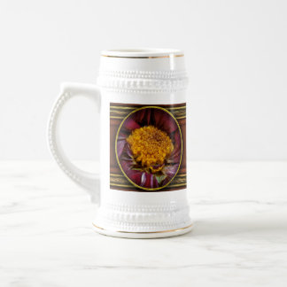 Flower - At the center of it all Beer Stein