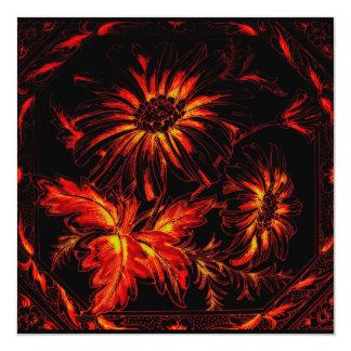 Flower, Autumn or Fire Colours, Orange & Reds Announcements