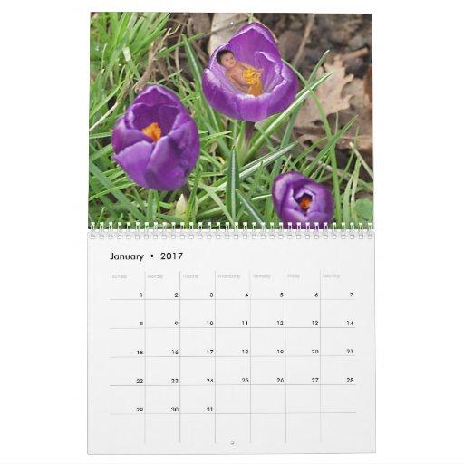 Flower Babies Calendar