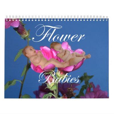Flower Babies Calendar Calendars