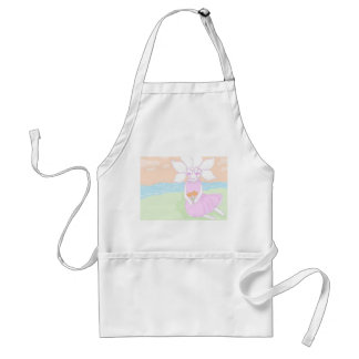 Flower Baby Adult Apron