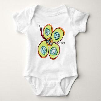 """Flower"" Baby Bodysuit"
