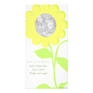 Flower Baby Card