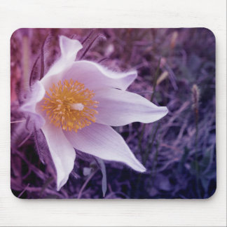 Flower background mouse pad