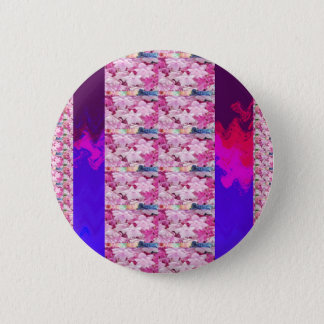 Flower based textures n patterns on Giveaway GIFTS Pinback Button