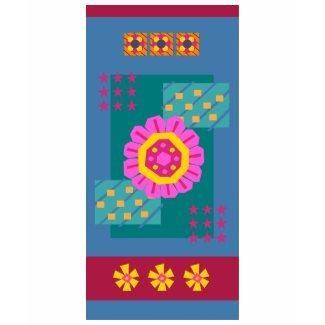 Flower Baseline shirt