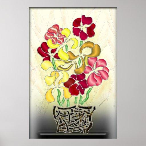 Flower Basket Print