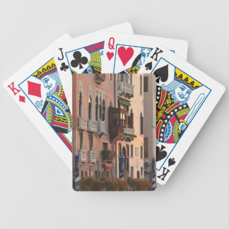 flower baskets and ornate Palace details, Italy Bicycle Playing Cards