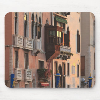 flower baskets and ornate Palace details, Italy Mouse Pad