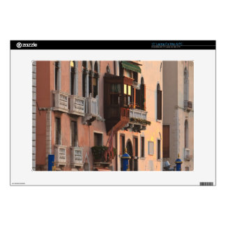 flower baskets and ornate Palace details, Italy Skin For Laptop