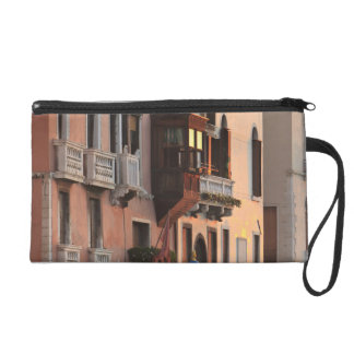 flower baskets and ornate Palace details, Italy Wristlet Purse