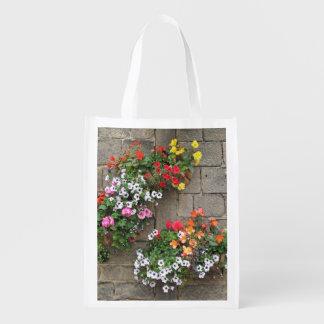 Flower Baskets Grocery Bag