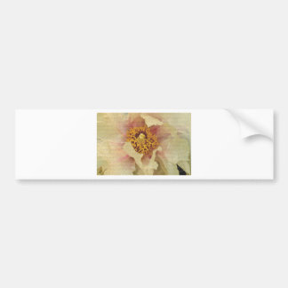 Flower Beauty Bumper Sticker