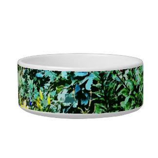 Flower Bed in Monet's Garden Bowl