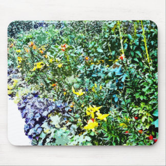 Flower Bed in Monet's Garden Mouse Pads