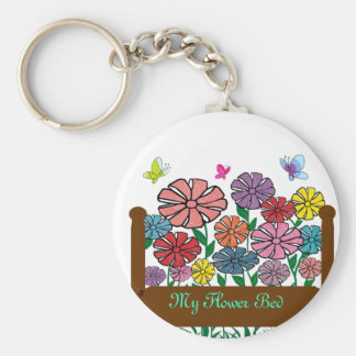 Flower bed, My Flower Bed key chain