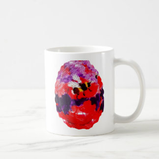 Flower Bee Floral Art Coffee Mug