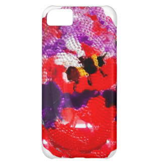 Flower Bee Floral Art iPhone 5C Cover