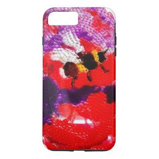 Flower Bee Floral Art iPhone 8 Plus/7 Plus Case