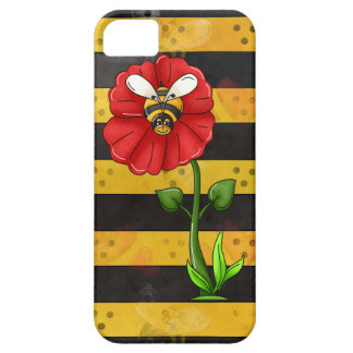 Flower Bee iPhone 5 5S case mate barely there