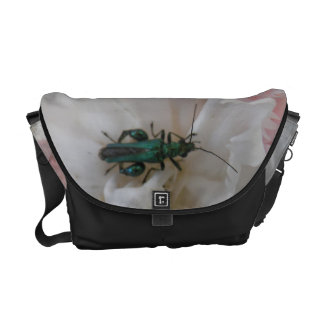 Flower Beetle Messenger Bag