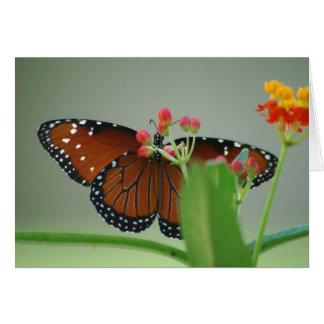 Flower Behind the Flower Greeting Card