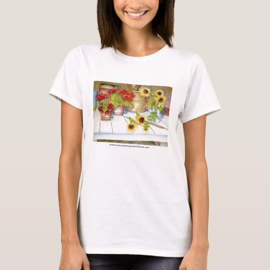 Flower Bench T-Shirt